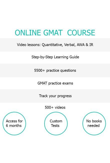 Online GMAT Course
